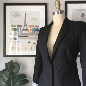 Banana Republic • Wool Two Button Blazer